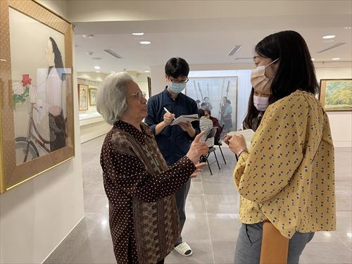 陳進,台湾美術,台湾画家,杵歌,サンティモン,パイワン族,第三高女,中山女中