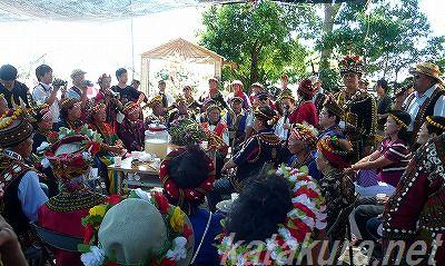 パイワン族,収穫祭,アミ族,豊年祭,ミリシン