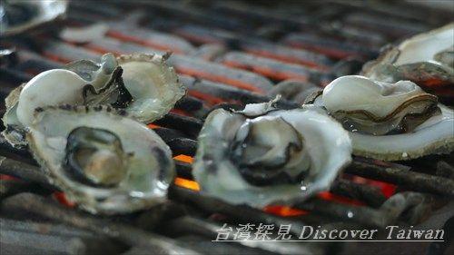 牡蠣,カキ,焼き牡蠣,海洋牧場,澎湖美食,カキ料理,片倉佳史,片倉真理