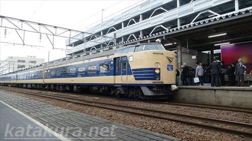 583系,ラストラン,秋田駅,セレモニー