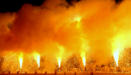 炎の祭典,2016年9月10日,豊橋,手筒花火,台湾