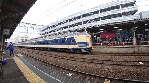 583系,台湾,博物館,譲渡,秋田駅