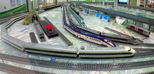 福島駅,山形新幹線,鉄道模型,HOゲージ