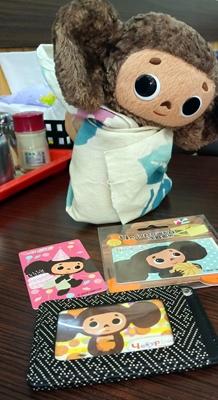 チェブラーシカ,悠遊カード,台北,台湾
