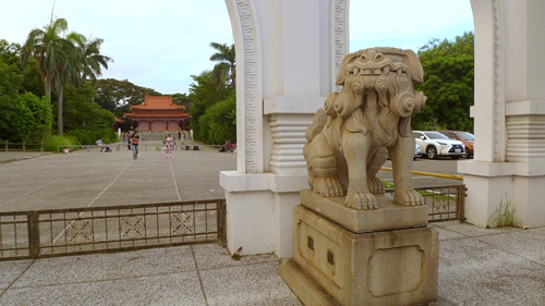 台南神社,狛犬,忠烈祠