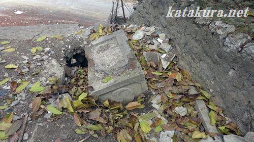 左営,戦跡,台湾,神社,遺跡,自強新村,手水鉢