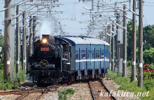 C57,CT273,台湾,台鐵,花壇,蒸気機関車