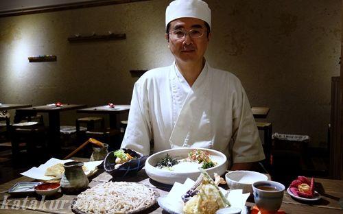 二月半,そば,台北,蕎麦麺,中山北路,井川