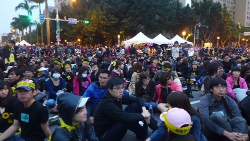退回服貿,台北,デモ,集会,330