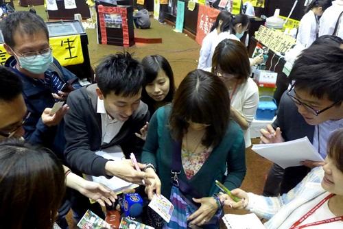 やんカフェ,安井知恵,立法院,台北,ブランクサンダー