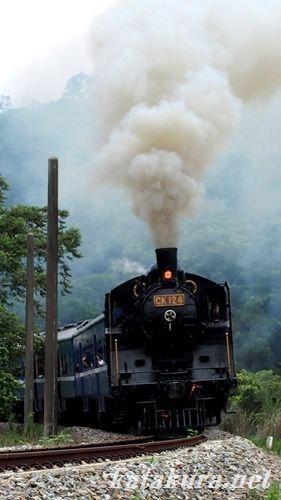 C12,CK124,台湾,舊山線,勝興,觀光列車,山線,三義