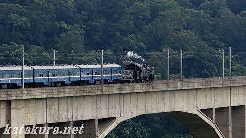 C12,CK124,台湾,舊山線,勝興,觀光列車,山線,三義,泰安