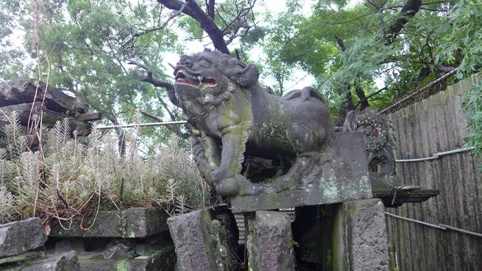 台湾神社,台湾,日本統治時代,石碑