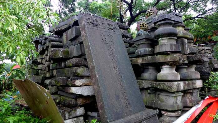 台湾神社,日本統治時代,鎮座記念碑