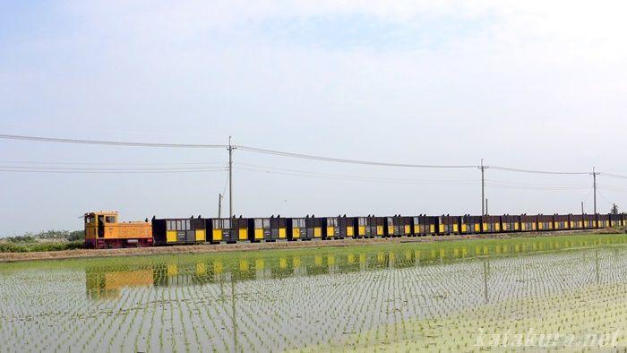 製糖鉄道,虎尾,台湾,雲林県,さとうきび,五分車,水鏡