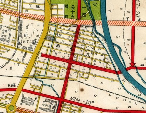 林森北路,大正町,木村泰治,林森,古地図