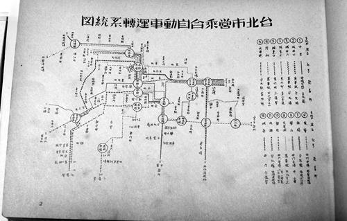 市内バス,台北市営バス,日本統治時代