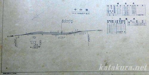十分駅,日本統治時代,十分寮,福井食堂