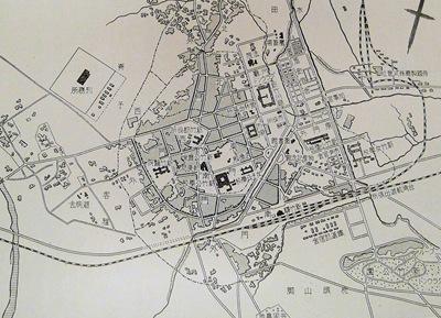 新竹,古地図,日本統治時代,日治