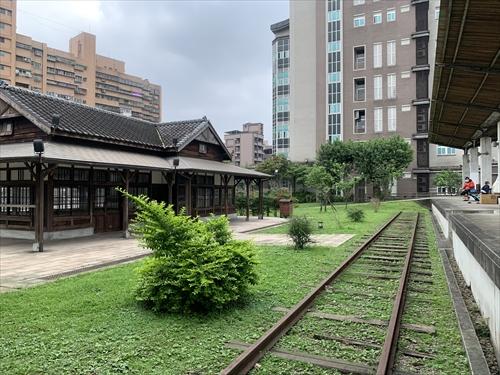 七堵駅,七堵站,日本時代,木造駅舎,鐡道公園,鉄道遺産
