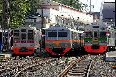ジャカルタ,コタ,電車,インドネシア