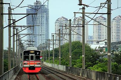 ジャカルタ,電車,日本