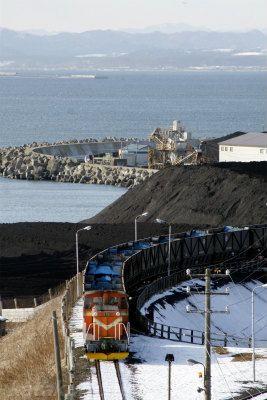 釧路臨港鉄道,釧路,プッシュプル,石炭