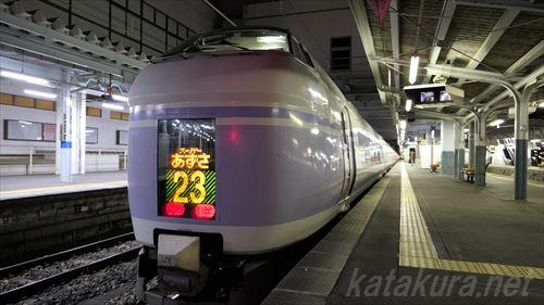 松本駅,音鉄,構内放送,スーパーあずさ