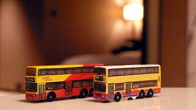 香港,バス模型