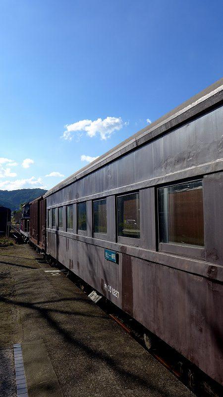 片上鉄道,旧型客車,柵原