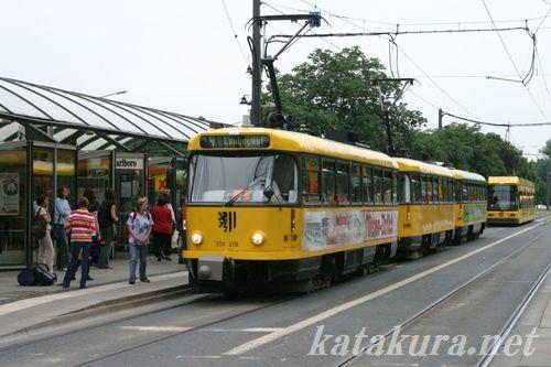 ドレスデン,タトラカー,トラム,ドイツ
