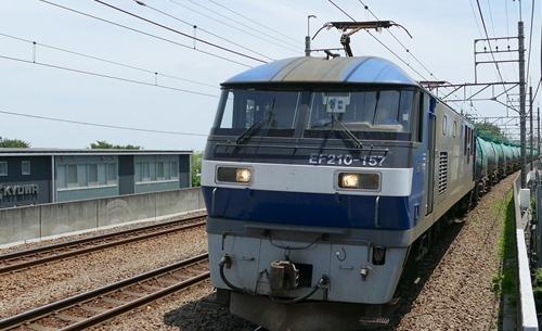 4K動画,切り取り,武蔵野線,貨物,新座駅