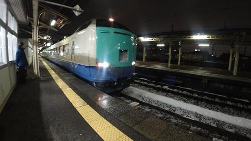 直江津駅,485,快速,信越本線