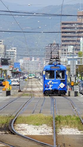 高知市,路面電車,とさでん,はりまや橋