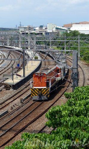 新馬車站,貨物列車