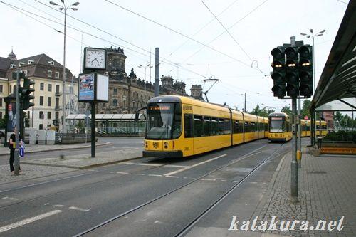 ドレスデン,トラム,ドイツ,路面電車