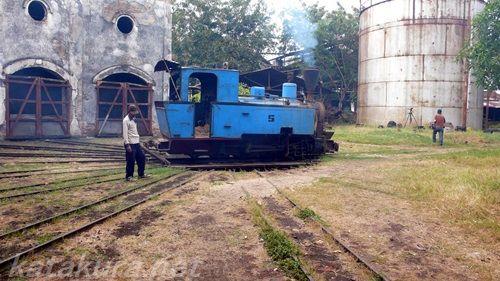 ジャティバラン,インドネシア,シュガートレイン,ジャワ島,製糖鉄道,ナローゲージ