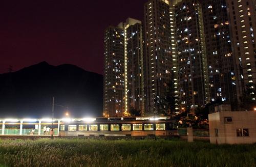 香港,軽便電車,LRT
