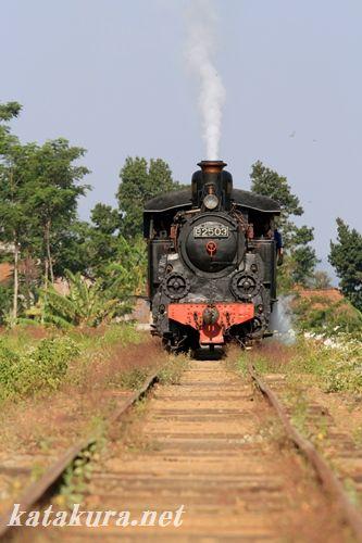 アンバラワ,保存鉄道,SL,インドネシア
