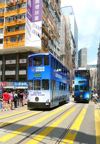 中環,香港,トラム