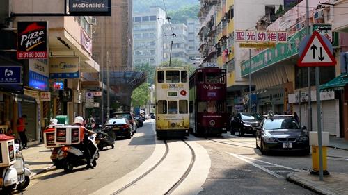 香港,トラム