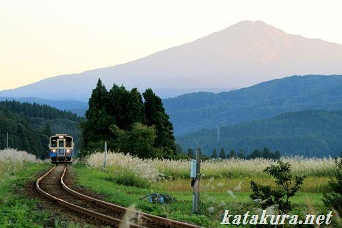 由利高原鉄道,鳥海山麓,平渓線,秋田,羽後本荘