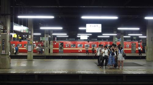 札幌駅,赤電