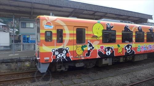 くまモン列車,肥薩おれんじ鉄道