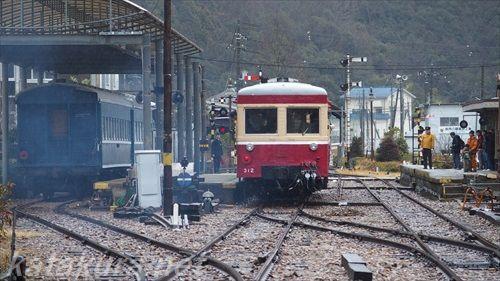 片上鉄道,吉ヶ原,保存鉄道