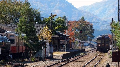 足尾駅,わたらせ渓谷鉄道