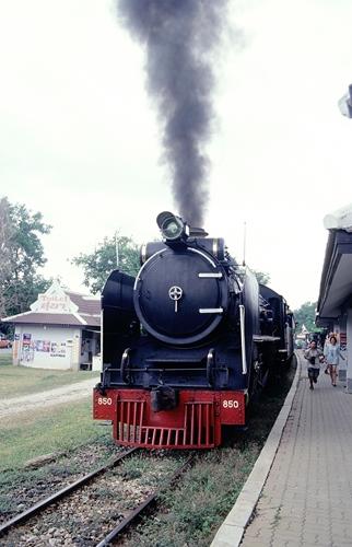 カンチャナブリー,タイ国鉄,日本,SL