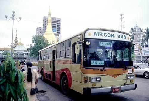ヤンゴン,ミャンマー,神奈川中央バス,日本