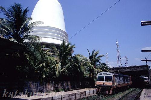 スリランカ,鉄道