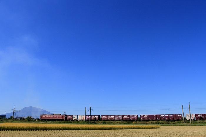 奥羽本線,なまはげ,貨物列車